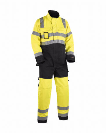 Blaklader 6373 High Visibility Overall (Yellow/Black)